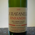 Wine of the Week: A. Rafanelli Zinfandel