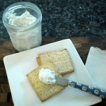 Simple herb cheese spread.