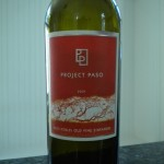 Wine of the Week: Project Paso Old Vine Zin
