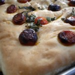Easy bread-making: homemade focaccia.