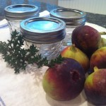 Holiday food gift: fig-thyme jam.