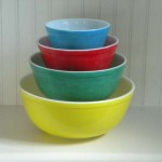 In praise of: vintage mixing bowls.