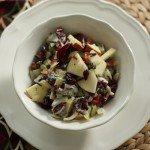 Fabulous wild rice salad with chicken.
