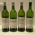 Wines of the week: Ridge.