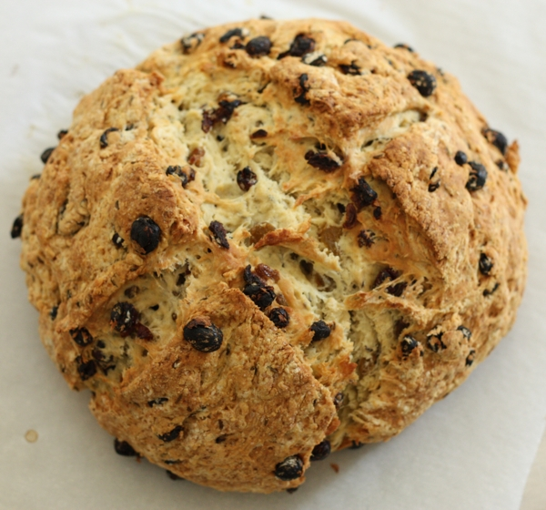 bread love skillet irish soda bread irish soda bread with raisins this ...