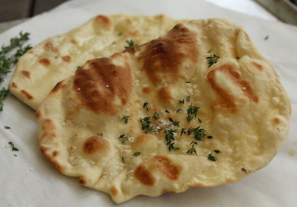 Grilled Flatbread Recipe — Dishmaps