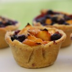 Adorable mini fruit pies.