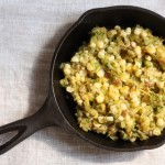 recipe for corn and zucchini saute | writes4food.com