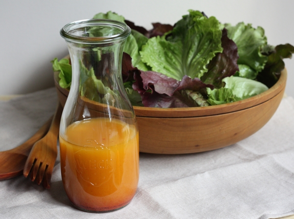 recipe for classic French salad dressing | writes4food.com