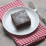 The Clara Project: one-bowl chocolate cake recipe.