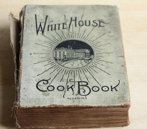 White House Cookbook Cover