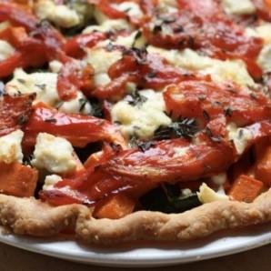 vegetable tart recipe #writes4food