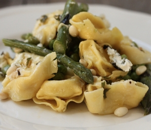 spring pasta with vegetables recipe #writes4food