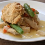 cheesy chicken and vegetable shortcake recipe | writes4food.com