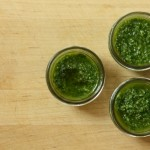 arugula garlic scape pesto recipe | writes4food.com