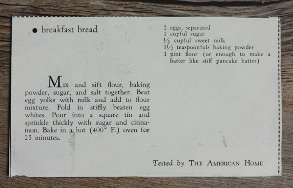 recipe for old-fashioned cinnamon coffee cake