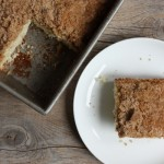 The Clara Project: breakfast bread (aka coffee cake).