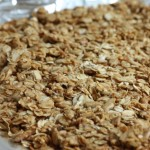 Savory granola topping.