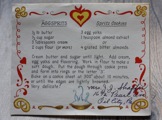 spritz-cookie recipe