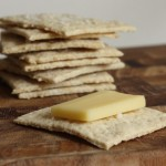 Oat-buttermilk crackers.