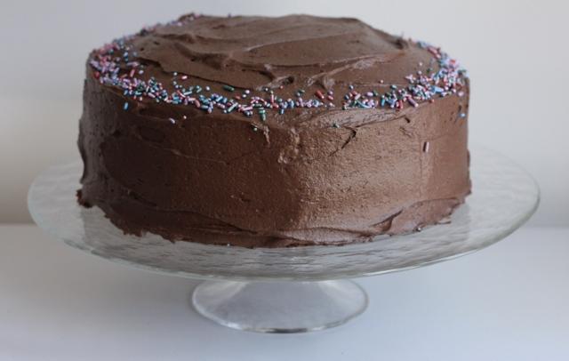 The Clara Project Chocolate Birthday Cake Writes4food