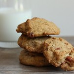 homemade almond butter cookie recipe | writes4food.com