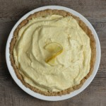 classic lemon chiffon pie in no-roll pie crust recipe | writes4food.com