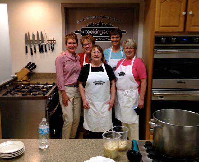 Bryn at Jungle Jim Cooking School