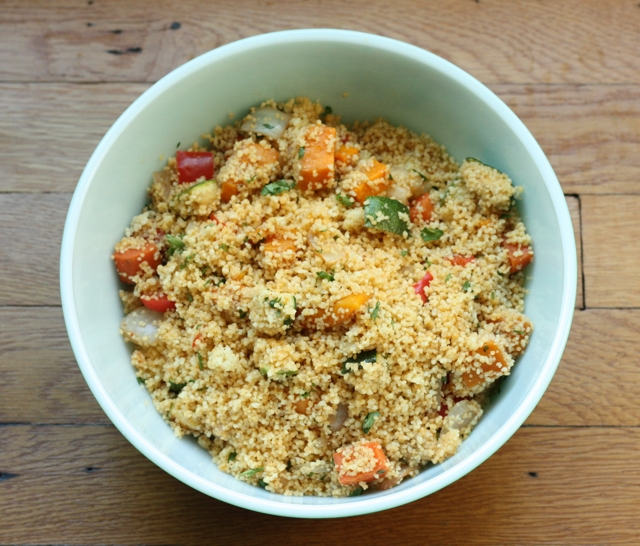 couscous with roasted vegetables recipe | writes4food.com
