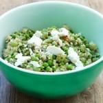 Spring quinoa salad.