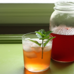 Strawberry vinegar shrub.