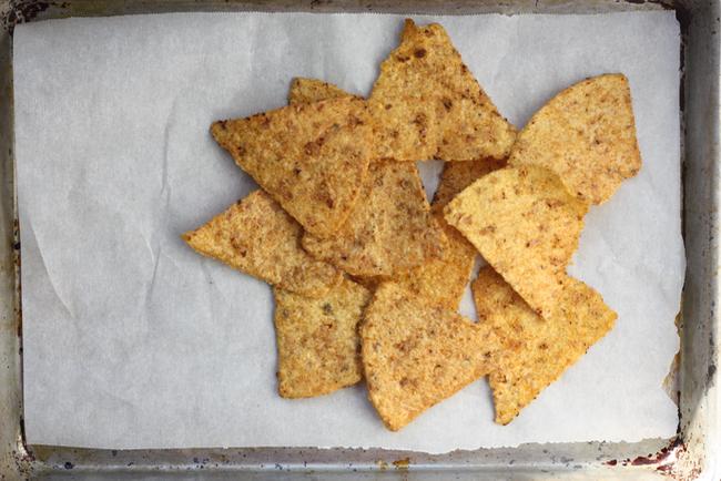 Shagbark corn chips
