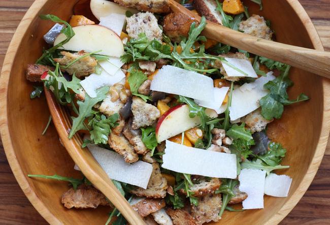 winter panzanella salad recipe