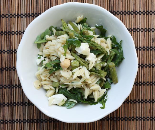 Spring orzo salad recipe