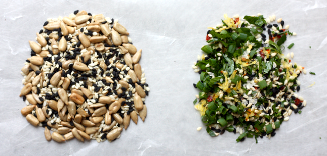 seed toppings
