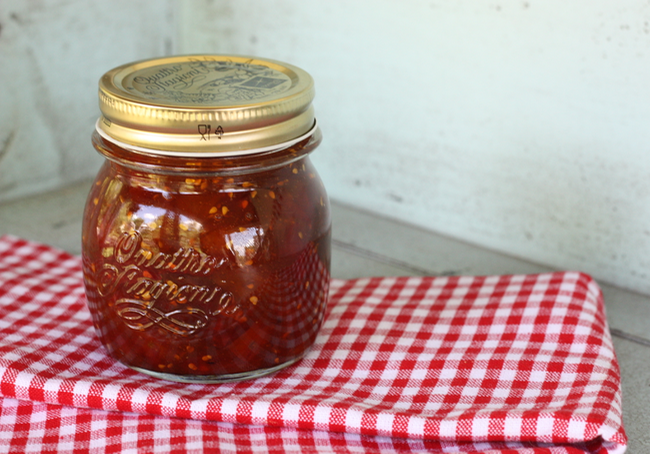 homemade spiced cherry tomato jam recipe | writes4food.com