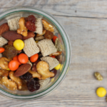 homemade sweet and salty trail mix recipe | writes4food.com