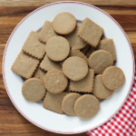 Christmas Cookie-Palooza: Chai shortbread.