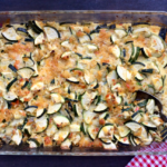 easy zucchini cheddar casserole recipe | writes4food.com