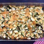 'Lost and found' zucchini casserole.