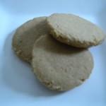 Brown butter shortbread cookies.
