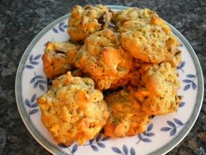A Better Christmas Fruitcake Cookie Writes4food