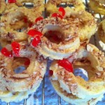 Classic almond wreath cookies.