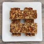 Homemade Granola Bars Recipe #writes4food