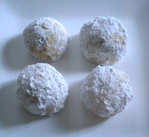 Christmas Cookie Palooza Pecan Snowball Cookies Writes4food