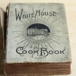 Vintage cookbooks.