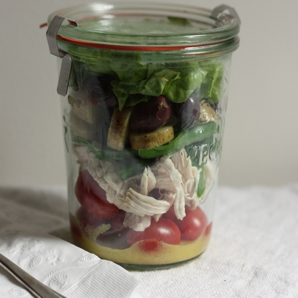 French Picnic Salad in a Jar #writes4food