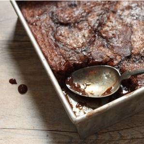hot fudge pudding cake #writes4food