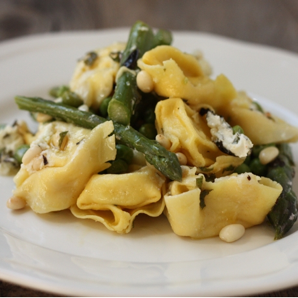 pasta with spring vegetables #writes4food