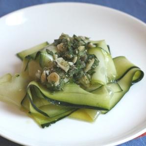 ribbon zucchini salad #writes4food